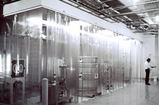 A softwall modular cleanroom