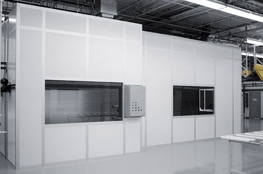 Custom designed modular cleanrooms by Lasco Services